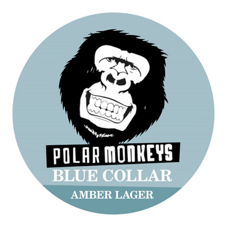 Polar Monkeys Blue Collar - 20L Keg