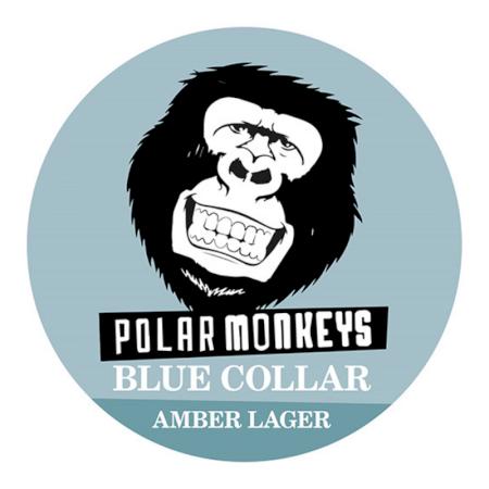 Polar Monkeys Blue Collar - 20L Keg