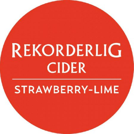 Rekorderlig Strawberry and Lime - 30L Keg