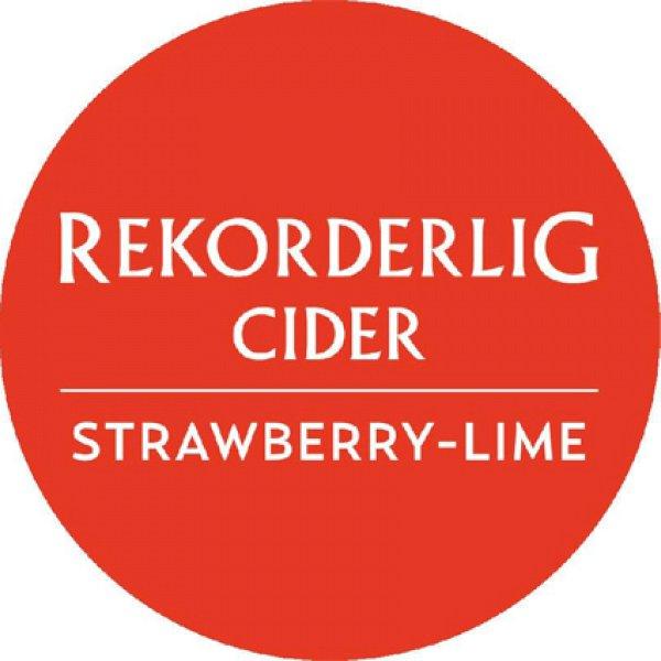 Rekorderlig Strawberry & Lime - 30L Keg