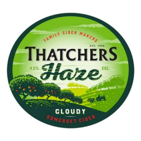 Thatchers Haze Cloudy - 50L Keg