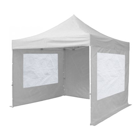 White Popup Marquee With Sides 3x3m